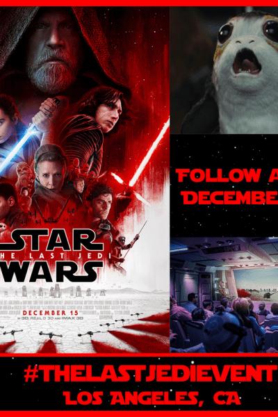 Star Wars The Last Jedi Trailer & #TheLastJediEvent Announcement