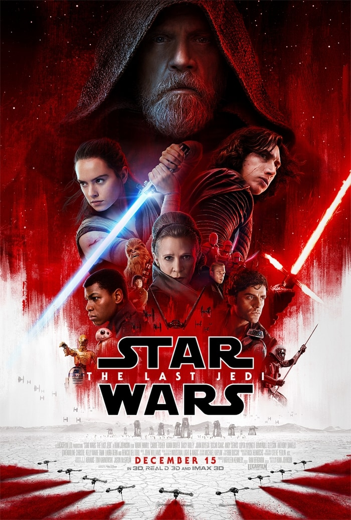 Watch The Last Jedi Trailer and then see the film in theaters on December 15th!