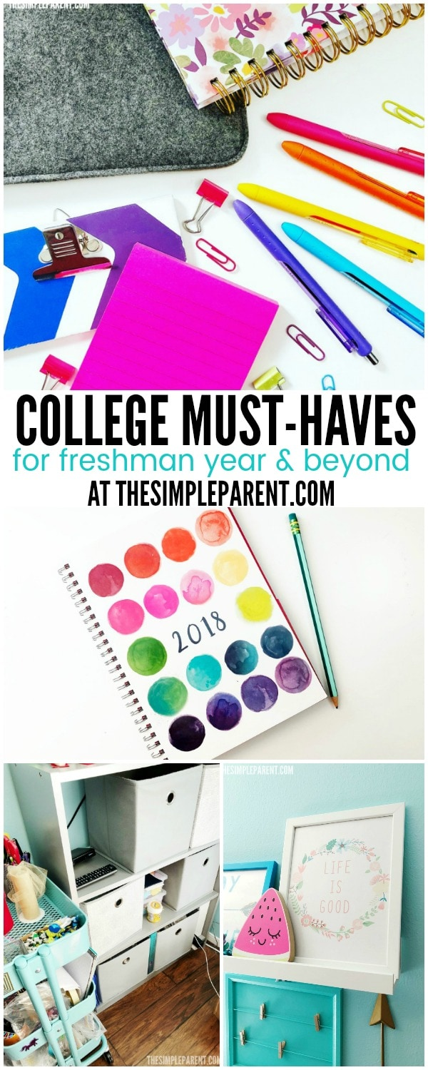 Check out these college must haves for freshman year (and beyond) that you might not have on your list!