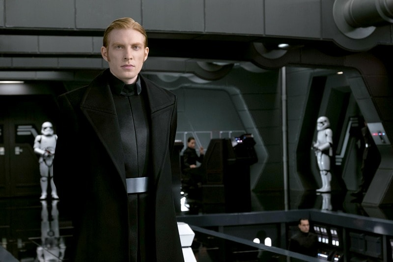 Learn more about Domhnall Gleeson as General Hux in Star Wars: The Last Jedi!