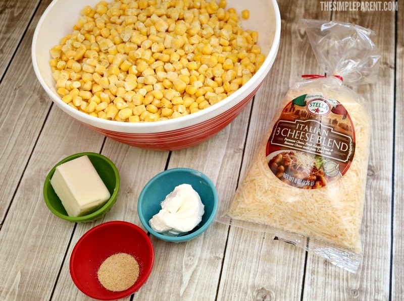 Parmesan Garlic Butter Corn is one of our favorite easy Christmas side dishes! Learn how simple it is to make!