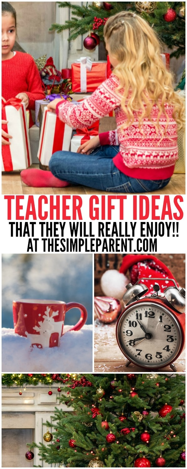 Check out these 7 holiday teacher gift ideas that they can actually use!