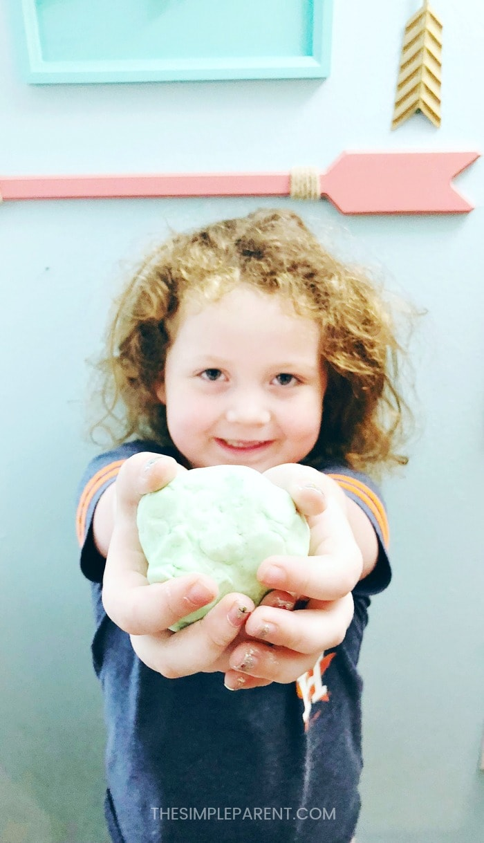 Learn how to make homemade playdough recipe with your kids!