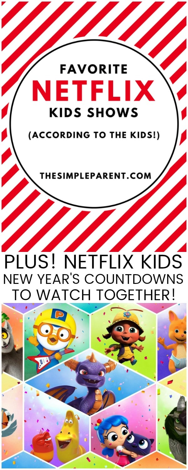 Check out our favorite kids shows on Netflix for 2017 and then watch a countdown to the new year with some of our favorite characters!