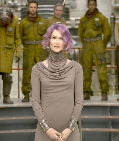 Learn more about STAR WARS: The Last Jedi in our Laura Dern Star Wars interview! She plays Vice Admiral Amilyn Holdo in the new film!