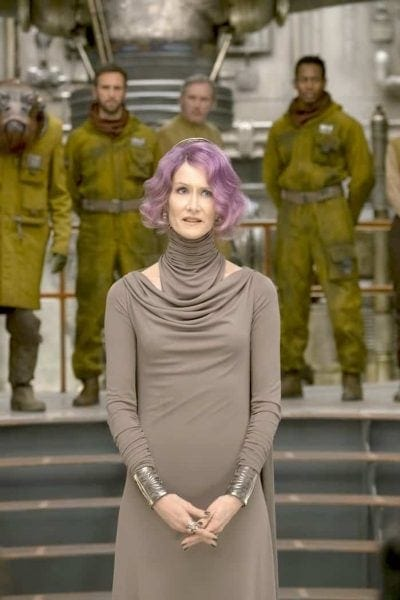 Laura Dern Star Wars Interview: Meet Vice Admiral Amilyn Holdo