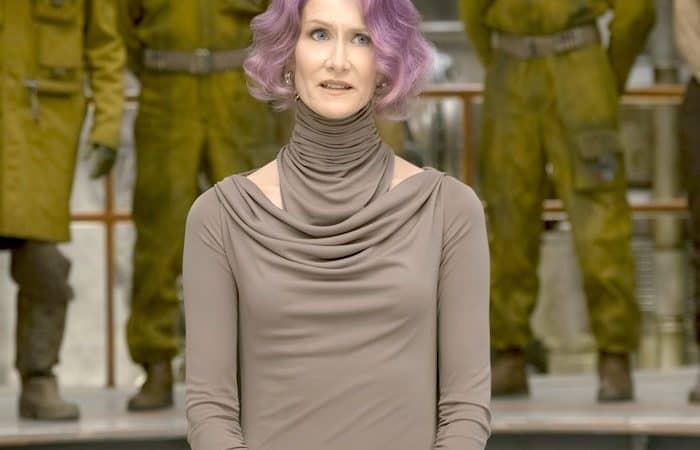 Laura Dern Star Wars Interview: Meet Vice Admiral Amilyn Holdo