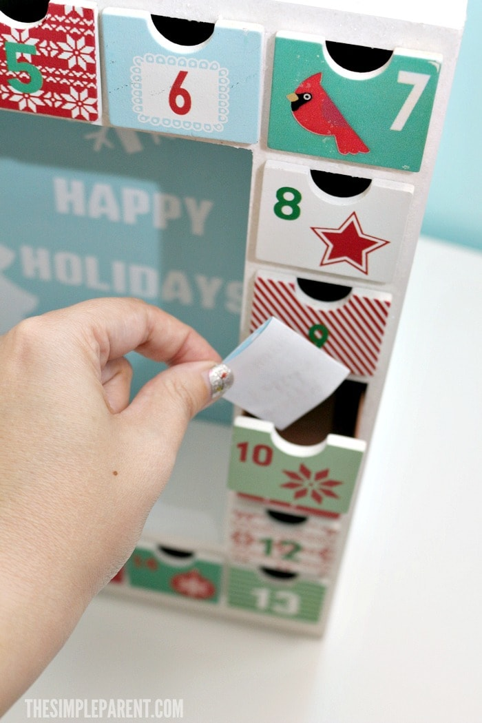 Download your FREE printable advent calendar activities and get some easy holiday packing and shipping tips!