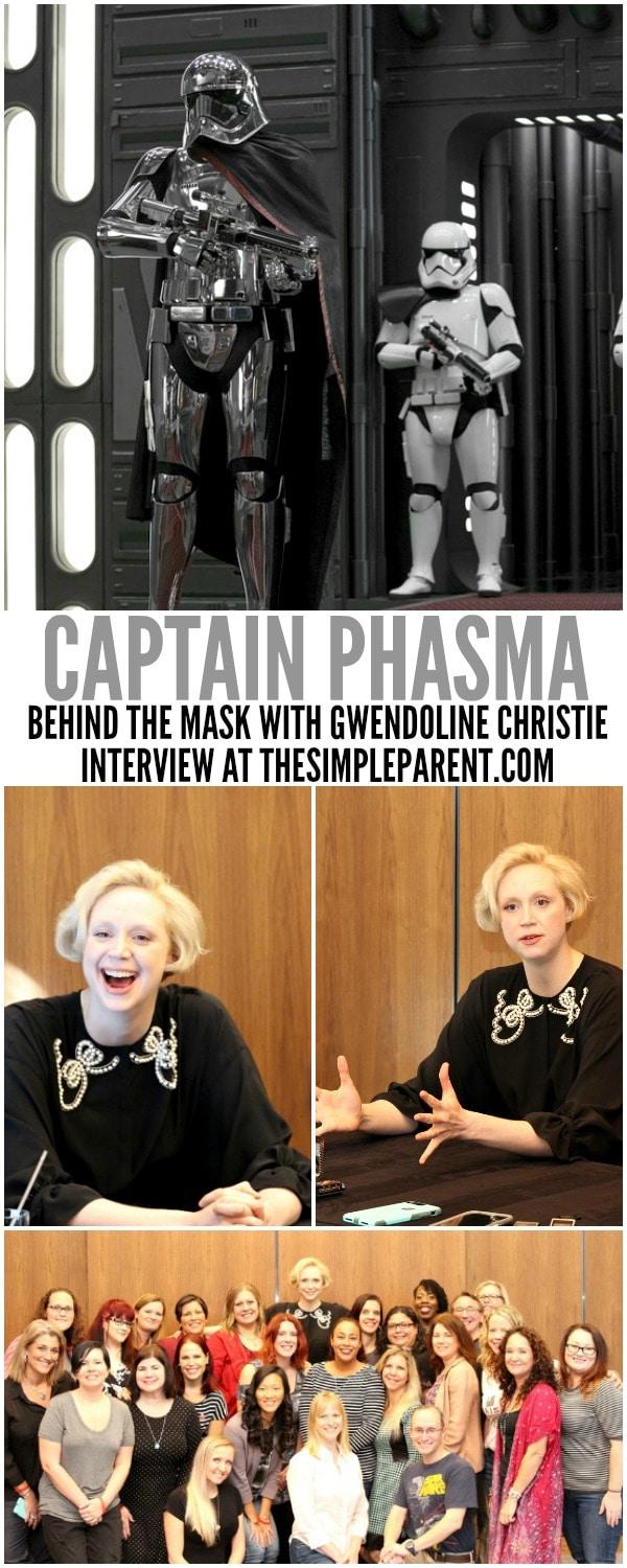 Learn more about Gwendoline Christmas and her character in this Star Wars Captain Phasma interview!