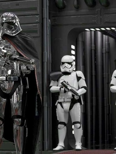 Star Wars Captain Phasma Interview with Gwendoline Christie