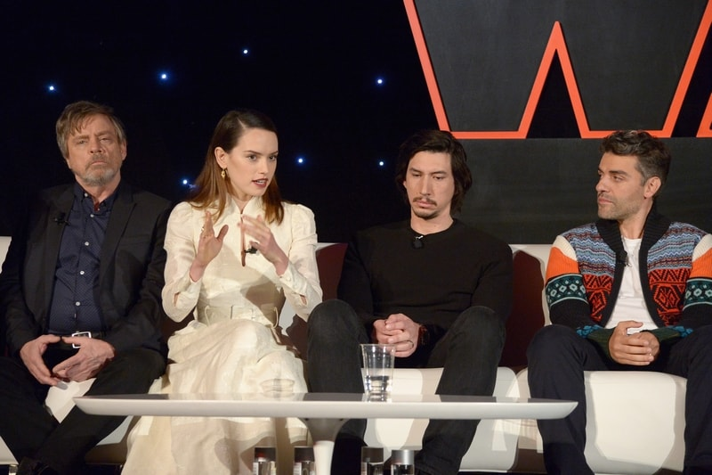 Check out the cast from the Star Wars The Last Jedi press conference and learn more about the film!