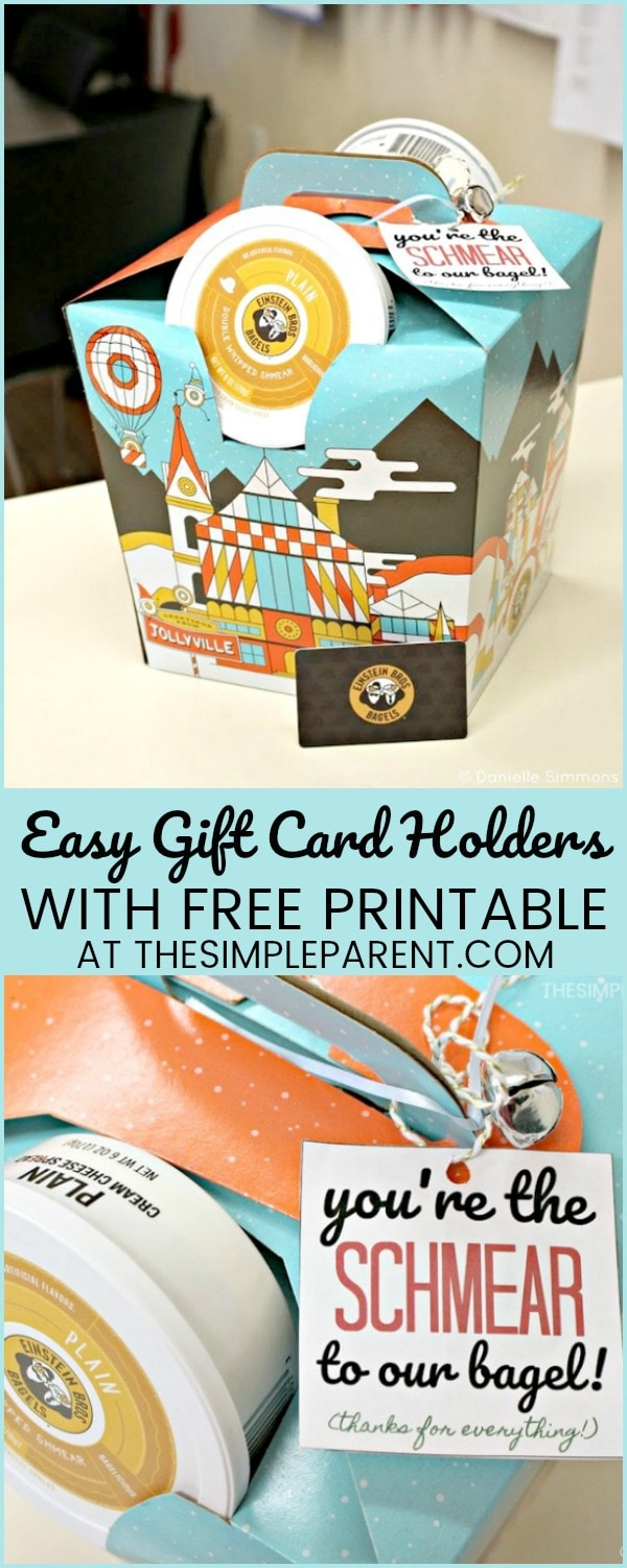 Check out these creative ways to give gifts cards and unique gift card holders! Download your own FREE printable!