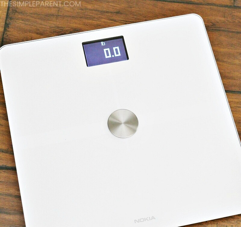 The Nokia Body+ scale is helping me stay motivated and more active this year!
