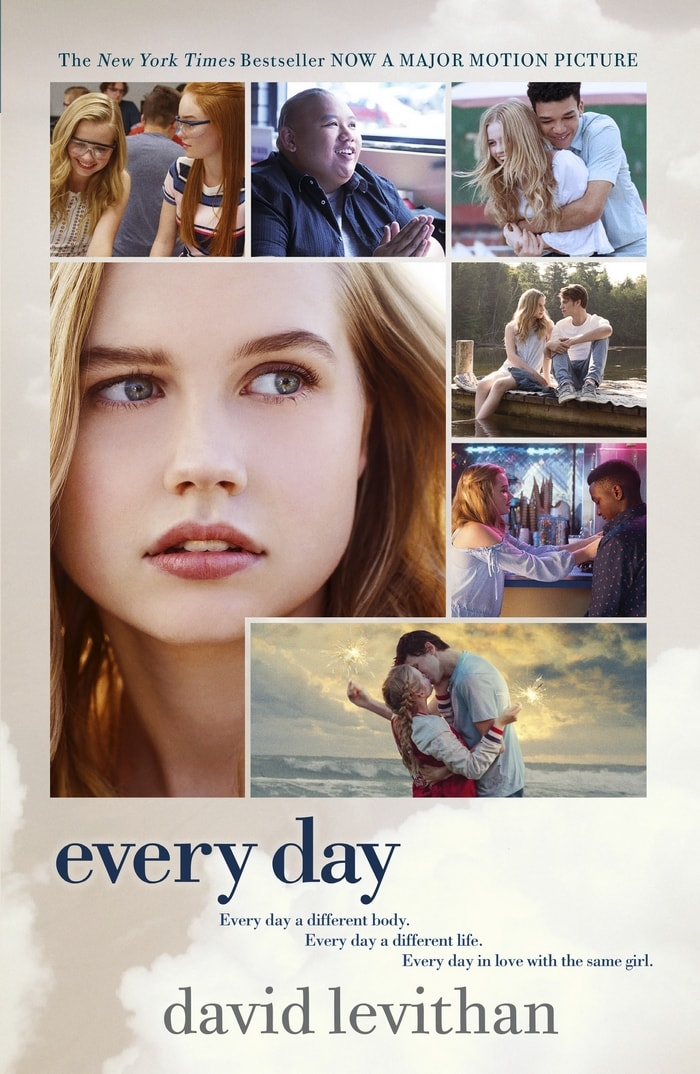 The Every Day movie based on the New York Times Best Selling book hits theaters nationwide on February 23rd!