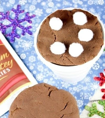 Learn how to make your own hot chocolate playdough!