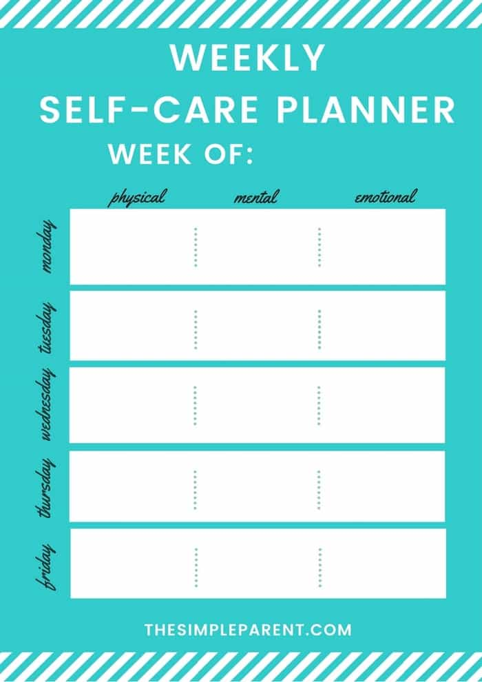 Self Care Ideas - Practicing self care activities on a daily basis will help you feel better. It's important for women (and for moms) to take care of their mental health. These five tips and things to do make it easy to love yourself each day! FREE PRINTABLE!
