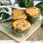 Make stuffed green peppers in the slow cooker for dinner tonight!