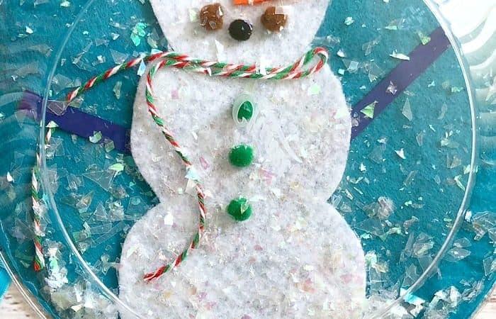 Cutest Snowman Snow Globe Craft Your Kids Will Ever Make!