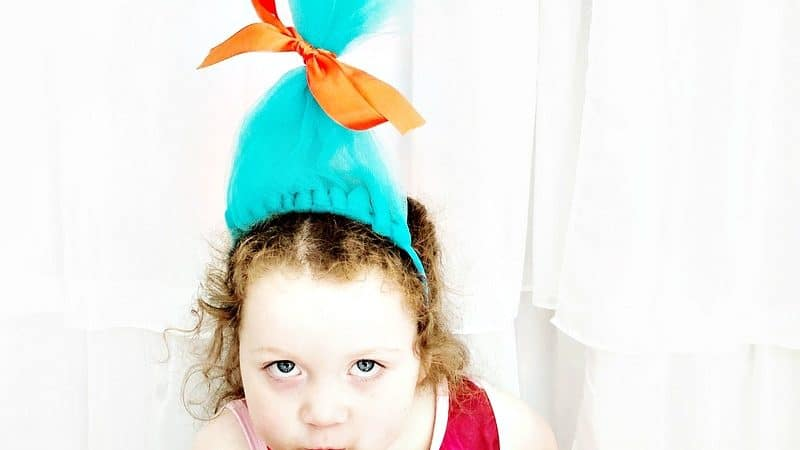 How to Make Troll Hair Headband
