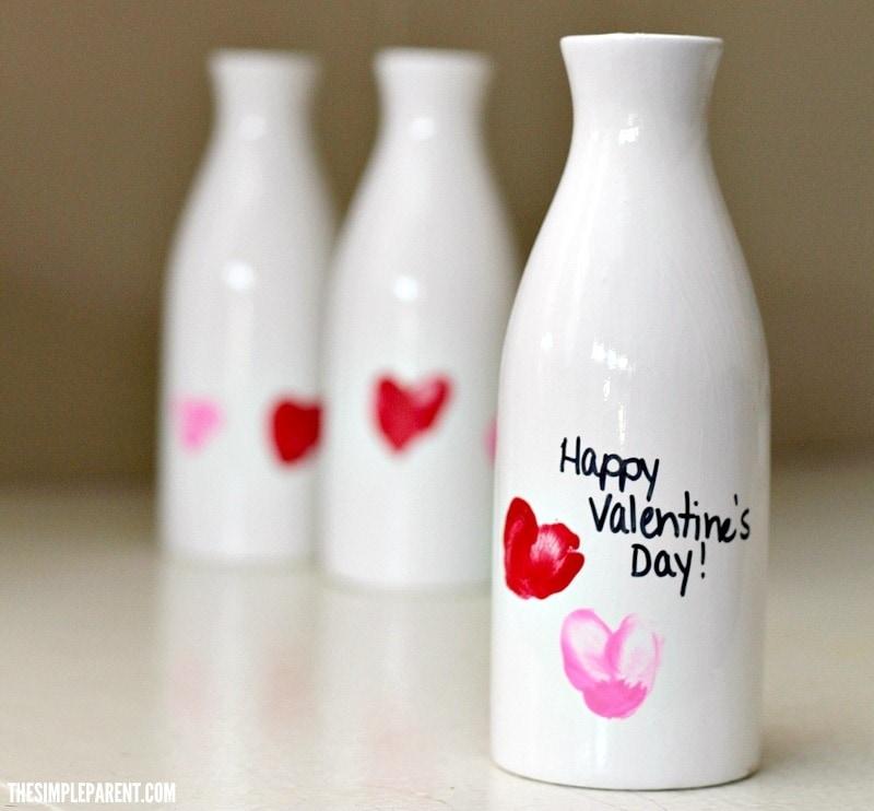 Handprint Vase Craft