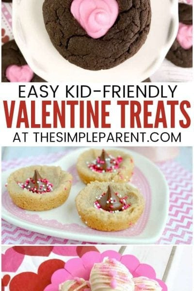 Valentine Treats for Kids - Make these easy ideas for school parties, for teachers, or for coworkers! These easy DIY recipes are perfect for making together with your kids to celebrate Valentine's Day!