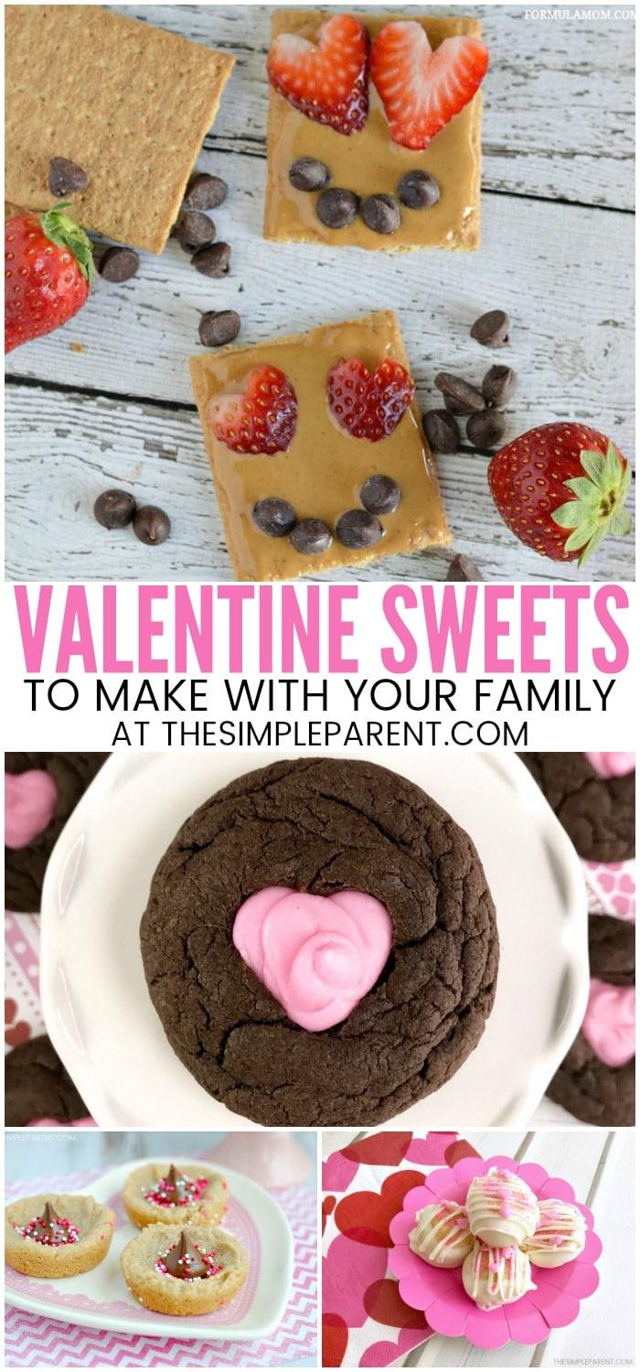 9 easy valentine treats to make with your kids the for Valentine s day meals to cook together