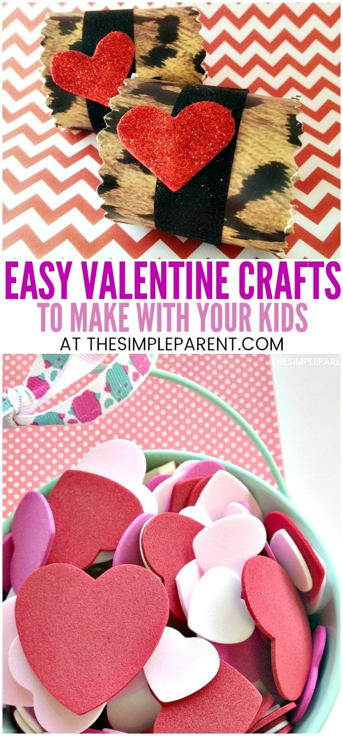 9 Lovely Valentine Art Projects Craft Ideas For Kids The Simple