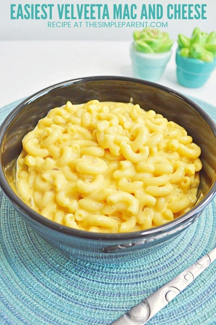 Velveeta Mac And Cheese Makes Dinner Easy Tonight