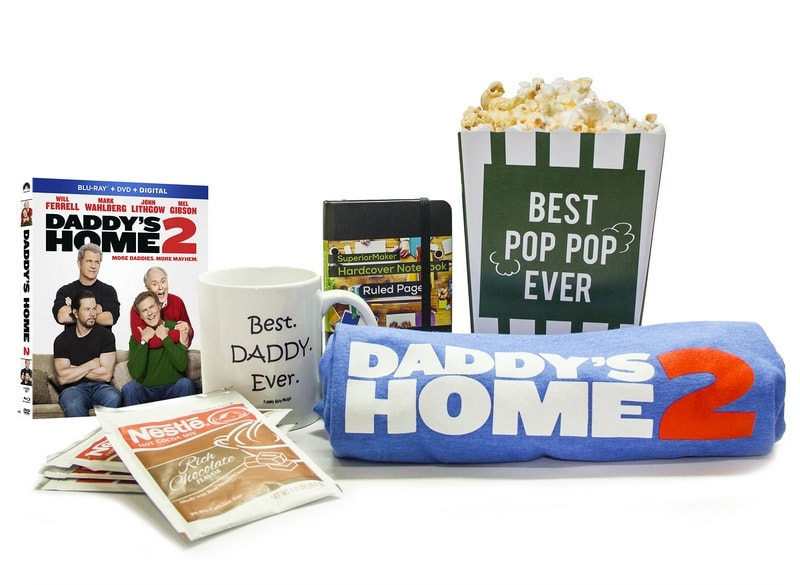 Daddy's Home 2 DVD is available on February 20th! Get your copy and enjoy a date night in! Enter to win a movie prize pack!