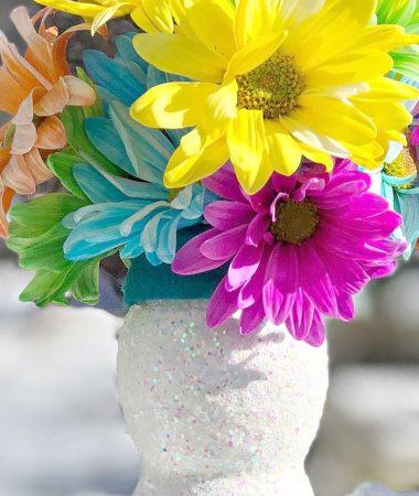 Make an Easy Plastic Bottle Flower Vase for Someone You Love!
