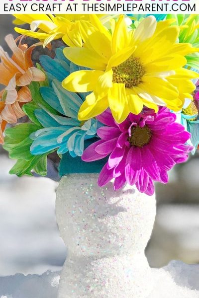Plastic Bottle Flower Vase - DIY Plastic Bottle Crafts for Kids are a great way to reuse those old water bottles and juice bottles. Upcycling projects are fun to make and these ideas make great gifts! Fill these plastic bottle vases with flowers and celebrate someone you love on Valentine's Day or Mother's Day!