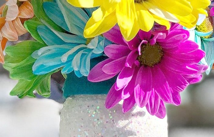 Make an Easy Plastic Bottle Flower Vase for Someone You Love!
