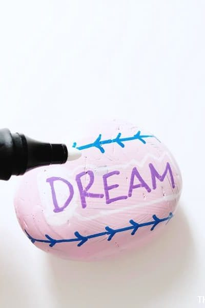 Things to Paint on Rocks includes words like Dream.