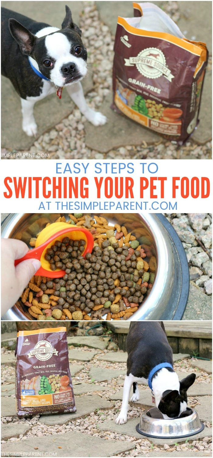 Changing Dog Food - Learn how to change your pet's food so they don't get sick. Make a change to a healthier dry dog food and improve your dog's quality of life! The best dog food brands for your dog don't have to be hard to find! Check out these tips!