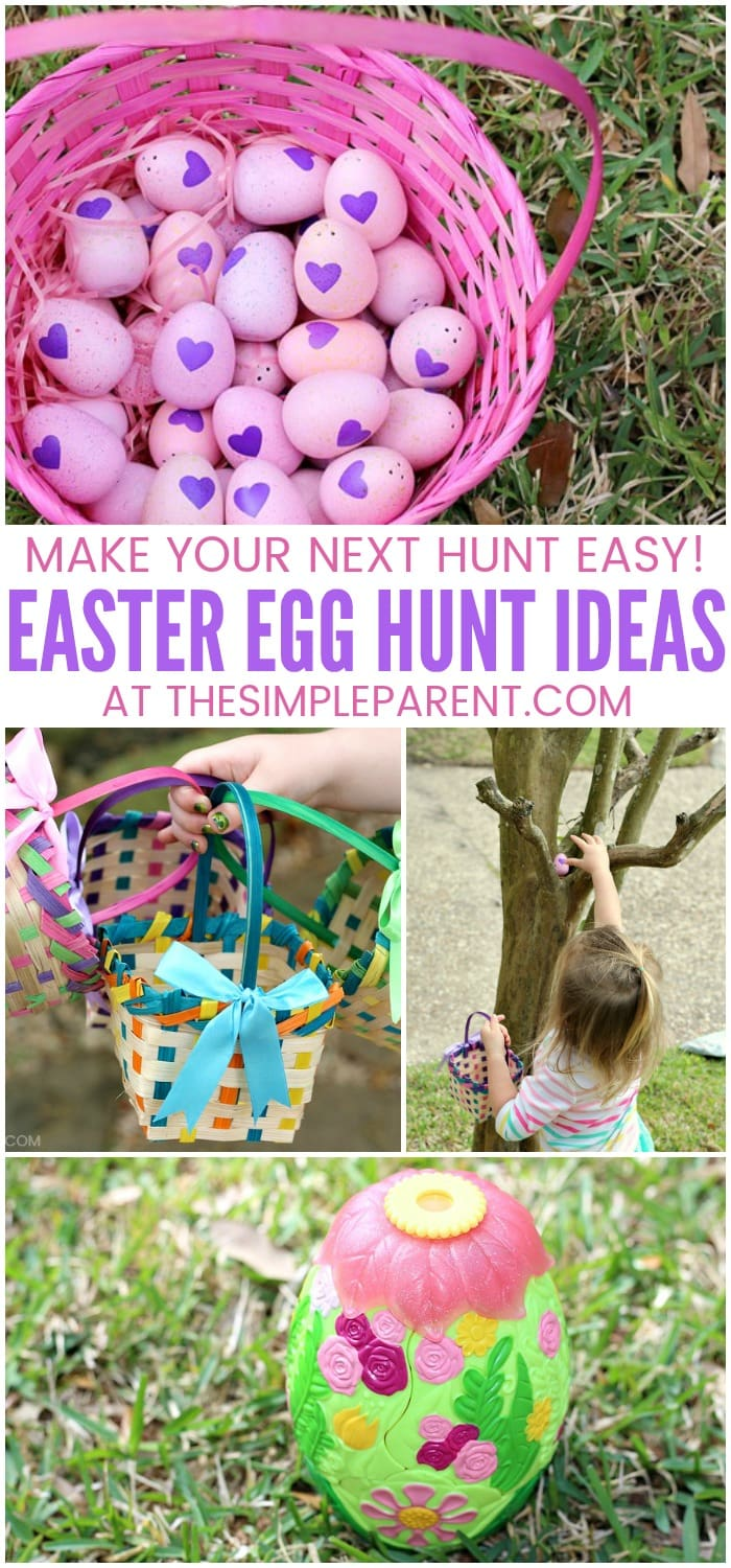 5 easter egg hunt ideas for an easy memorable hunt