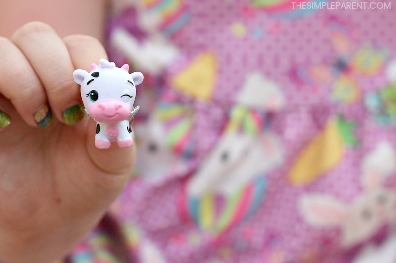 Offering prizes is one of the Easter egg hunt ideas and this cow Hatchimals figure is a great one!
