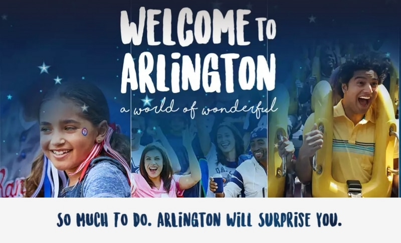Family Friendly things to do in Arlington, TX.
