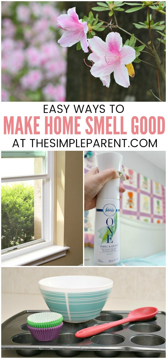 How to Make Your House Smell Good - It doesn't have to be a challenging task! You can try some of these easy ideas including the best air fresheener and odor eliminator that we've found. If you're sensitive to strong smells we have a spray option for you!
