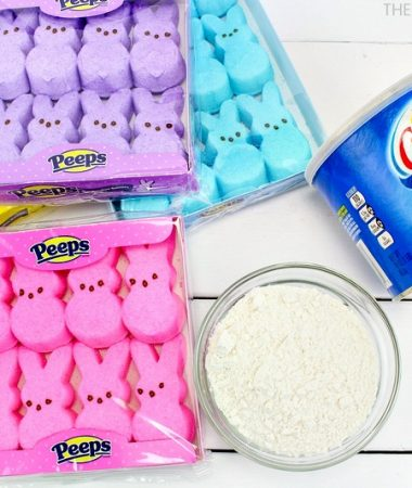 Peeps Marshmallow Playdough You Can Make in Minutes!