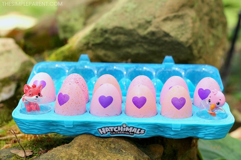 Hatchimals CollEGGtibles as an alternative to plastic Easter eggs.