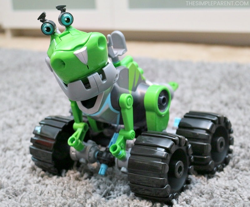 Botasaur from the Rusty Rivets Toys product line.