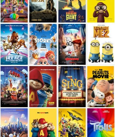 Regal Summer Movie Express $1 Movie Schedule