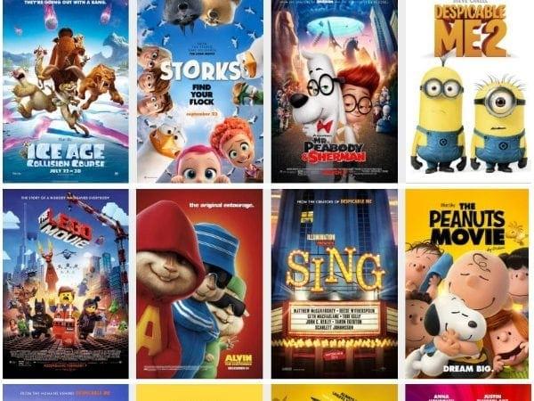 Regal Summer Movie Express $1 Movie Schedule