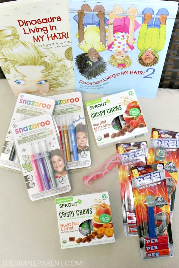 Babbleboxx Just for Kids has a variety of great products for young kids including books, face painting pens, PEZ dispensers, and more!