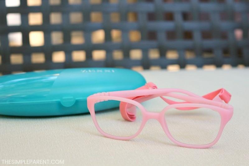 Zenni Optical Kids Flexible Frame Glasses featured in Babbleboxx