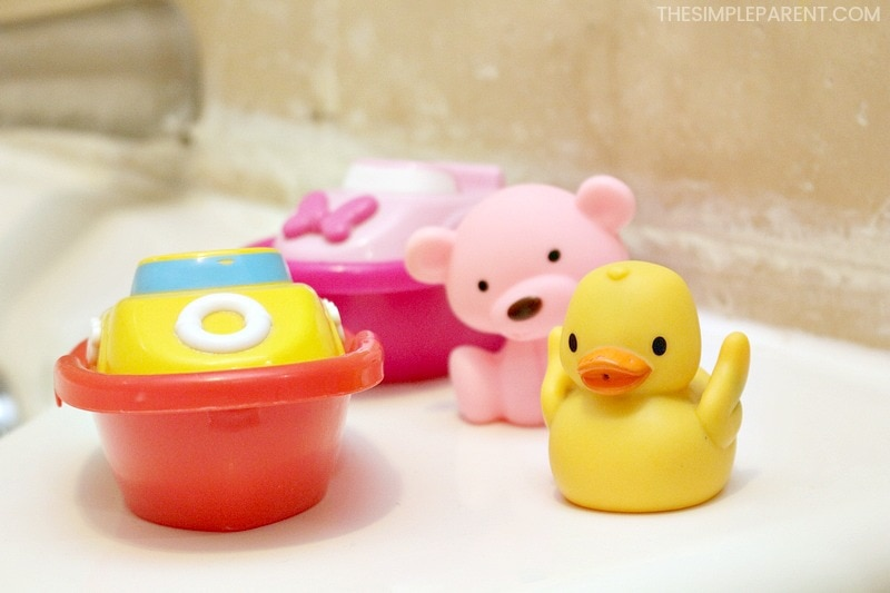 Bath toys to make bath time fun for kids.