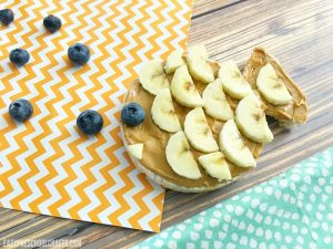 Finished fish craft that also doubles as a healthy snack for your kids!