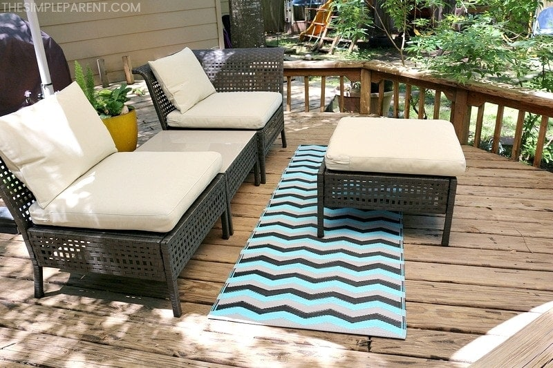 3 Easy Ways To Make Over Outdoor Living Areas The Simple