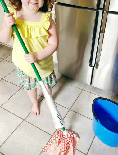 Printable Toddler Chore Chart - show chores that children can do by age and how they can help you around the house.