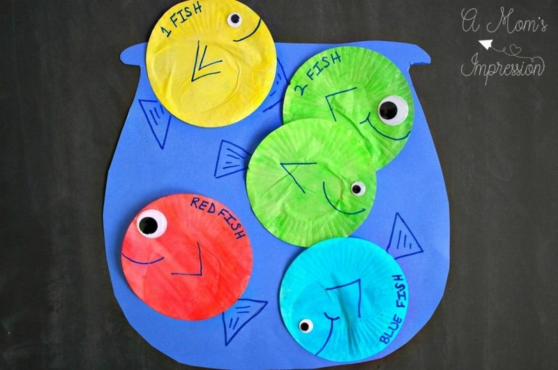This fish bowl craft is a fun way to explore ocean animals for kids!